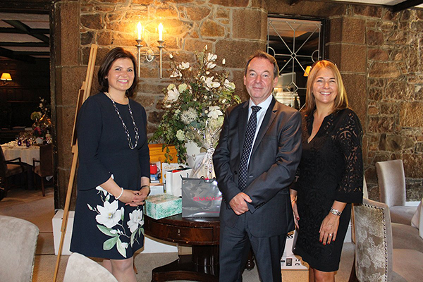 Lisa Springate, Eric Knowles and Sheila Dean